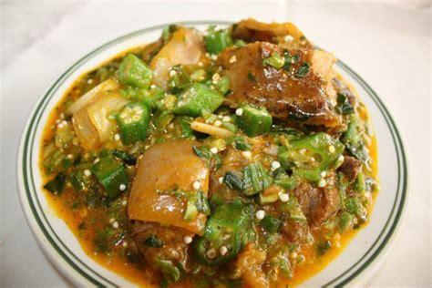 cuisine sauce ivoirienne sauce gombo avec kpanman cuisine africaine