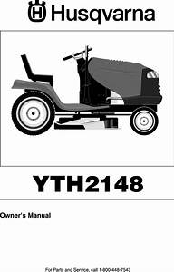 Husqvarna Lo21h48f User Manual Tractor Manuals And Guides
