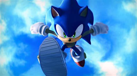 sonic  hedgehog blue sky   wallpaper