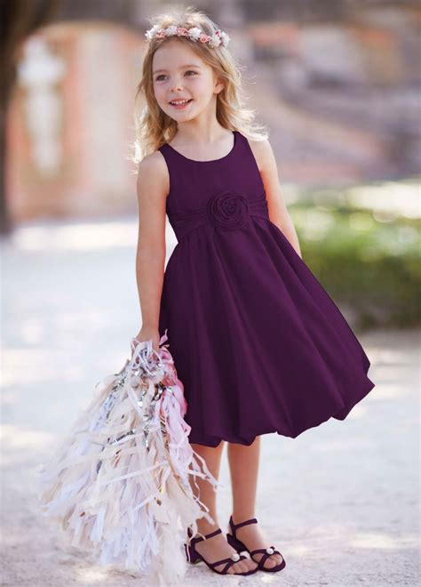 Flower Girl Dress Put Them In The Purple If Bridesmaids
