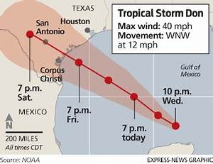 Tropical storm could be godsend - San Antonio Express-News