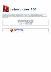 Bestseller  Sony Xplod 52wx4 Manual Espanol