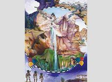 Zuni map artIllustrating cultural memory NavajoHopi
