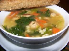 Chicken and Escarole Soup with Fennel Recipe - Details ...