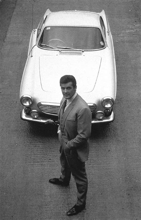 """Volvo P1800 - Roger Moore in """"The Saint"""" 