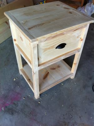 Nightstand Plans Free by Free Diy Woodworking Plans For Building A Nightstand The
