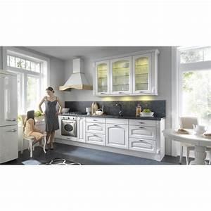 Küche 300 Cm : k che 300 cm echtholzfronten weiss erweiterbar ~ A.2002-acura-tl-radio.info Haus und Dekorationen