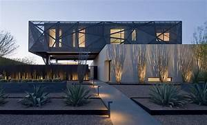 Modern, Desert, House, By, Assemblagestudio