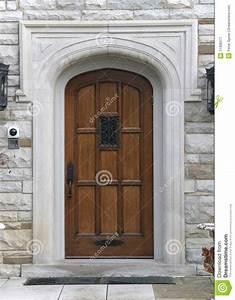 Elegant Front Door Royalty Free Stock Photography - Image ...