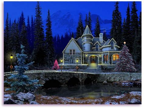 3d Snowy Cottage Animated Wallpaper Free - 3d snowy cottage animated wallpaper windows 7