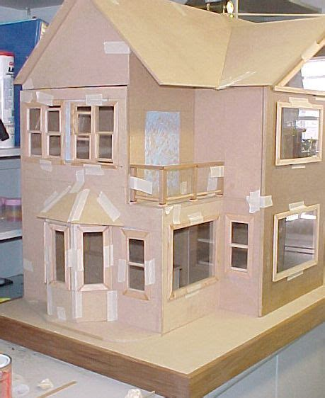 cardboard doll house patterns  finally ive