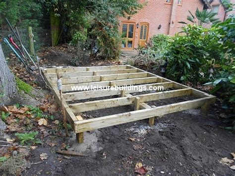 access building  shed ramp  uneven ground shed plan