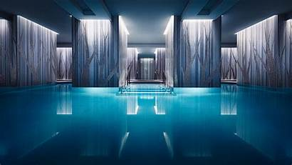Hotel Modern Pool 4k Four Seasons 8k