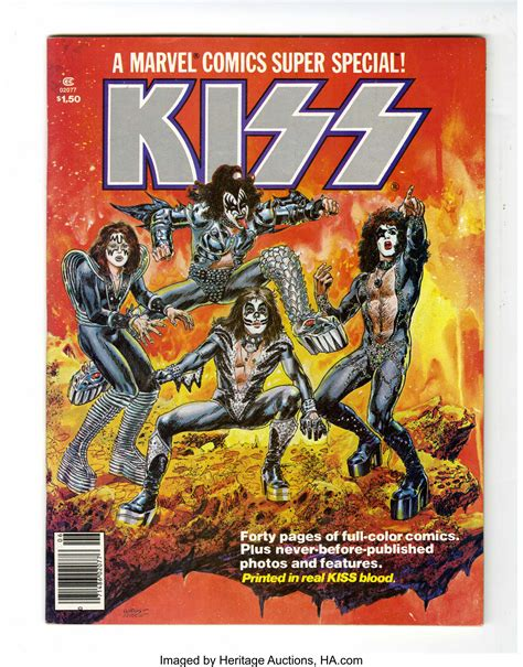 Marvel Comics Super Special #1 Kiss (Marvel, 1977 ...