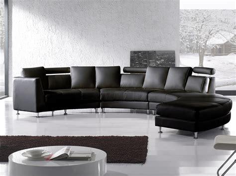 canapé angle moderne salon moderne cuir