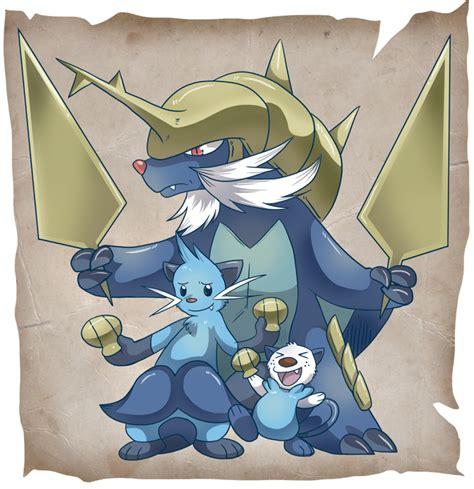 pokemon spectrum   raise pokemon oshawott
