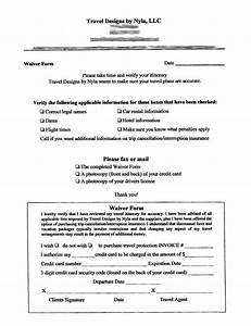Sample Waiver Form - Free Printable Documents
