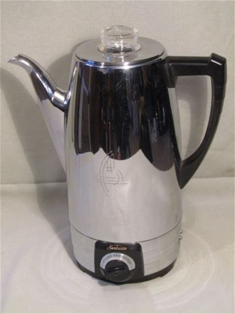 SOLD (reviewed) Sunbeam AP8 8 Cup Coffee Percolator