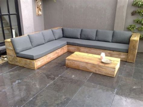 geuesten holz moebels eck sofa gartentisch terrassen bauholz