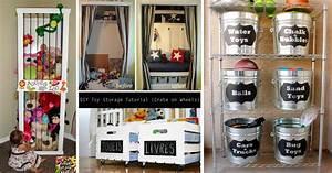30+ Amazing DIY Toy Storage Ideas For Crafty Moms – Cute
