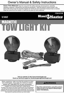 Magnetic Towing Lights Wiring Diagram
