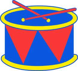 Marching Drum Clip Art