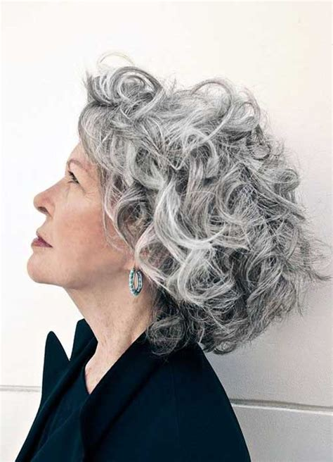 hairstyles  short grey hair short hairstyles