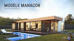 Maison Modulaire Largement Vitr U00e9e Design Manacor 3d 1p 2