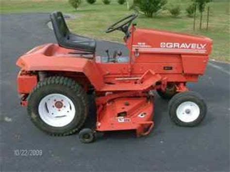 used farm tractors for sale gravely 16g lawn mower tractor 2009 10 23 tractorshed