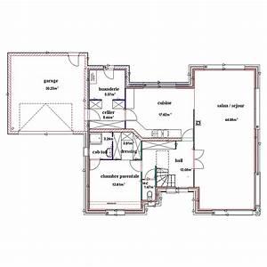 Plan Maison En U. cuisine gorgeous plan maison en u plan de maison ...