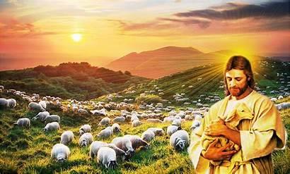 El Thought Del Jesus Shepherd Christ Pastor