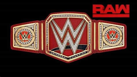 Universal Championship Belt WWE