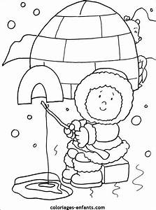 Eskimo Pictures For Kids - AZ Coloring Pages