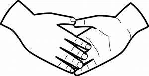 Shaking Hands Clip Art at Clker.com - vector clip art ...