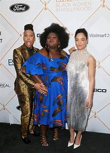 Lena Waithe Gabourey Sidibe Tessa Thompson Attends The