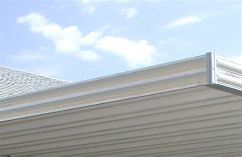 patio cover extrusion
