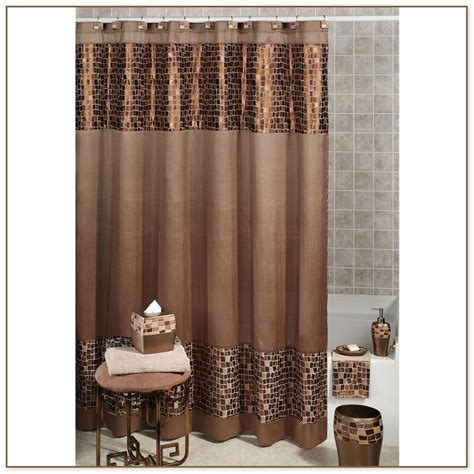gray and brown shower curtain home depot shower fixtures
