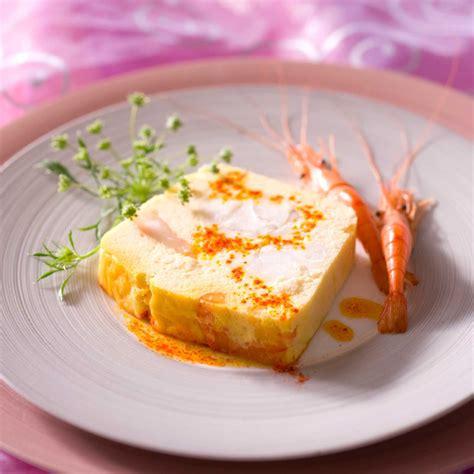jeux de cuisine aux fraises terrine de lotte aux crevettes facile recette sur cuisine actuelle
