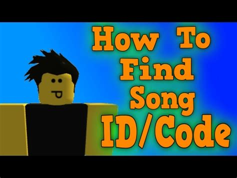 find song ids  roblox  vidoemo