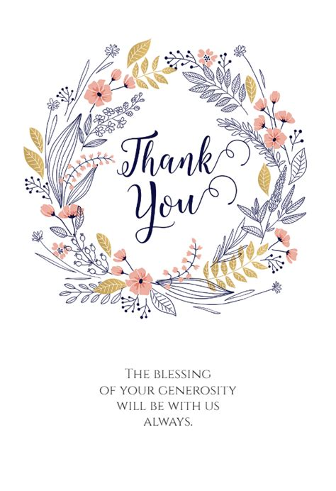 thankful    card template