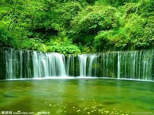 瀑布摄影图__自然风景_自然景观_摄影图库_昵图网nipic.com