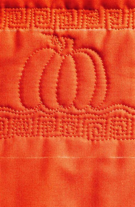 pumpkin  motion quilt favequiltscom