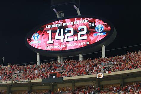 chiefs set  record   loudest outdoor stadium