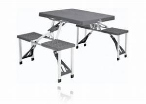 Table Et Chaise Camping : table de camping achat table de camping pliante campz ~ Nature-et-papiers.com Idées de Décoration