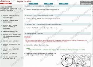 Toyota Land Cruiser Prado 150 Service Manual Eng Repair