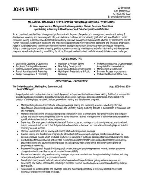 Customer Service Resume Objective Exles by Click Here To This General Manager Resume