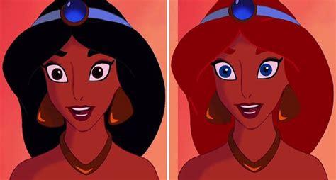 disney princesses   interesting hair  eye color