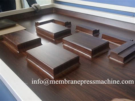 membrane press kitchen cabinet wood laminate machine wood laminate machine factory and 7425
