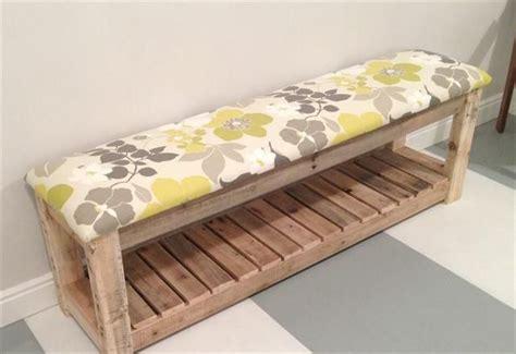 diy reclaimed wood pallet bench mudroom bench toolman