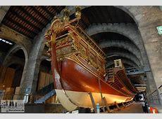 Bildergalerie Museu Marítim in Barcelona Rudergaleere im